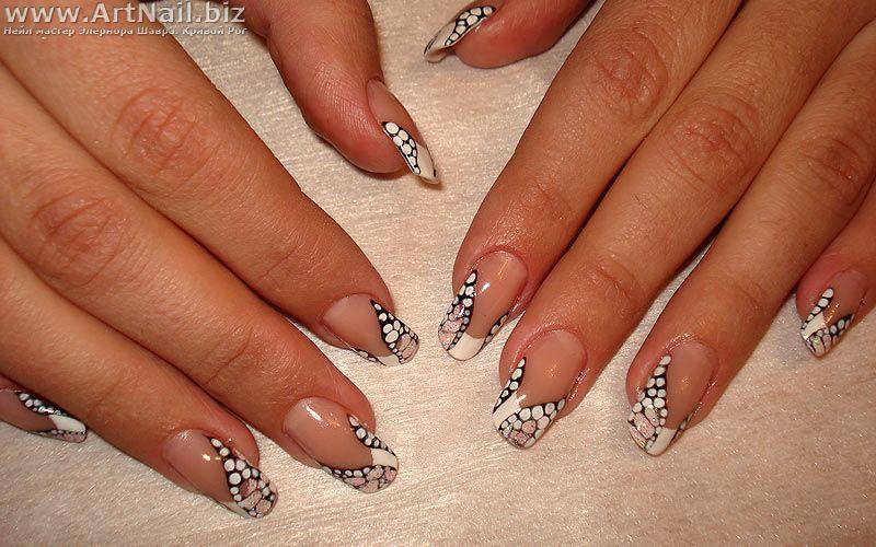 Роспись ногти