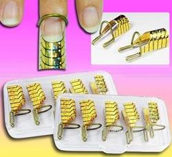 Одноразовые формы для наращивания ногтей